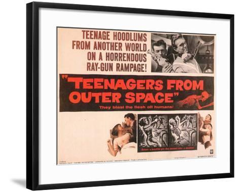 Teenagers From Outer Space, 1959--Framed Art Print