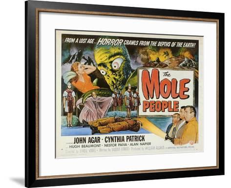 The Mole People, 1956--Framed Art Print