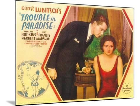 Trouble in Paradise, 1932--Mounted Art Print