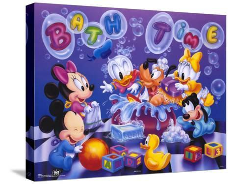 Mickey Mouse, 9999--Stretched Canvas Print