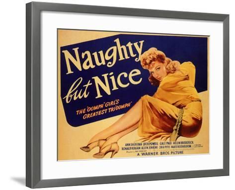 Naughty but Nice, 1939--Framed Art Print