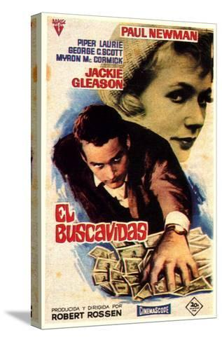 The Hustler, Spanish Movie Poster, 1961--Stretched Canvas Print