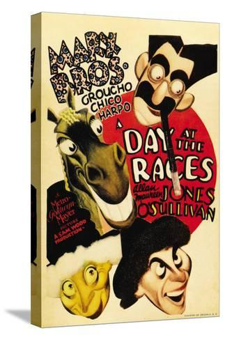 A Day at the Races, 1937--Stretched Canvas Print