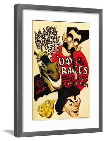 A Day at the Races, 1937--Framed Art Print