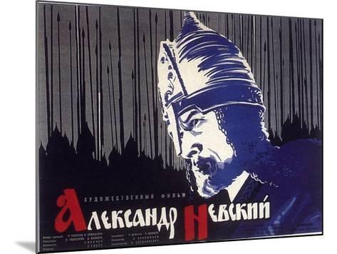 Alexander Nevskiy, Russian Movie Poster, 1938--Mounted Art Print