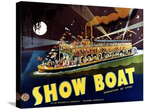 Show Boat, 1936--Stretched Canvas Print