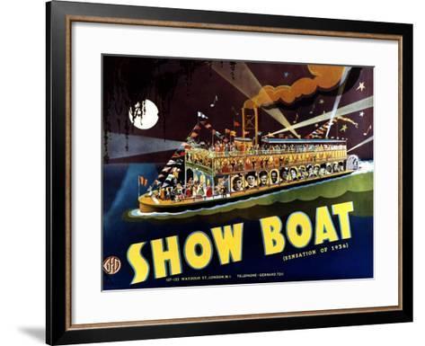Show Boat, 1936--Framed Art Print