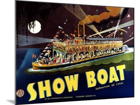 Show Boat, 1936--Mounted Art Print