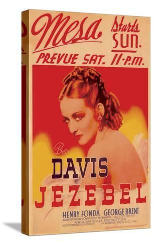 Jezebel, 1938--Stretched Canvas Print