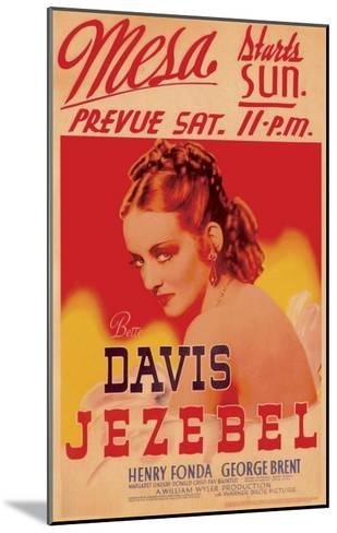 Jezebel, 1938--Mounted Art Print