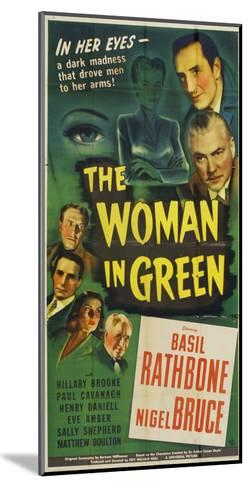 The Woman in Green, 1945--Mounted Art Print