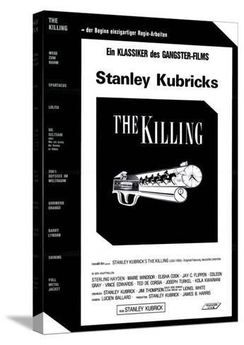 The Killing, German Movie Poster, 1956--Stretched Canvas Print