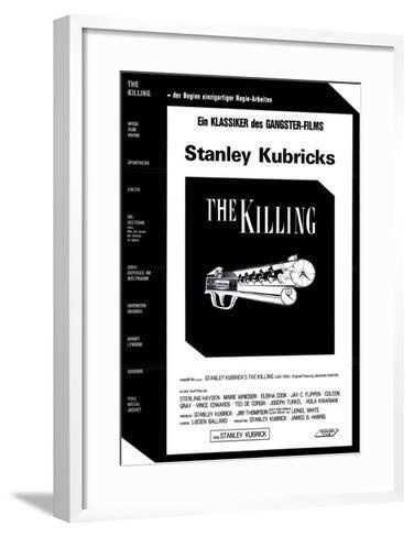 The Killing, German Movie Poster, 1956--Framed Art Print