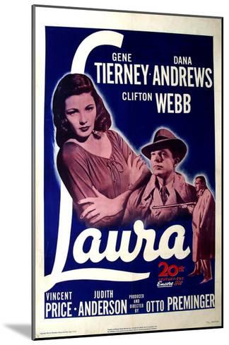 Laura, 1944--Mounted Art Print