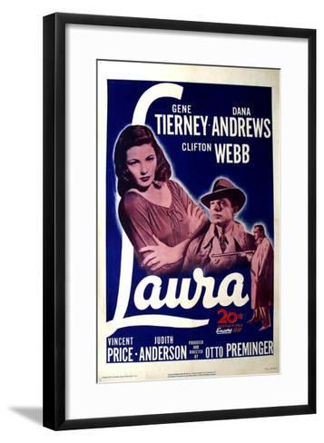 Laura, 1944--Framed Art Print