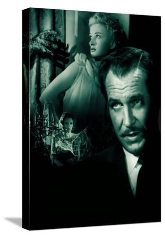 House On Haunted Hill, 1958--Stretched Canvas Print
