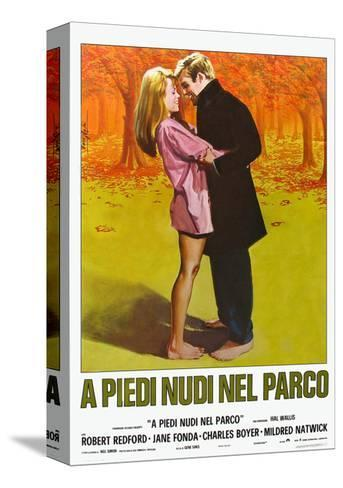 Barefoot in the Park, Italian Movie Poster, 1967--Stretched Canvas Print