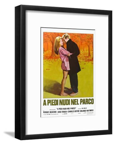 Barefoot in the Park, Italian Movie Poster, 1967--Framed Art Print