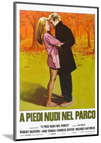 Barefoot in the Park, Italian Movie Poster, 1967--Mounted Art Print