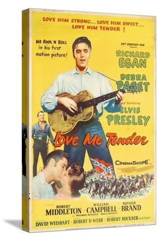 Love Me Tender, 1956--Stretched Canvas Print