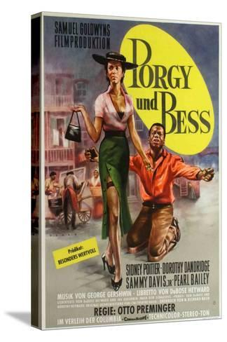 Porgy and Bess, German Movie Poster, 1959--Stretched Canvas Print
