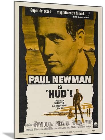 Hud, 1963--Mounted Art Print