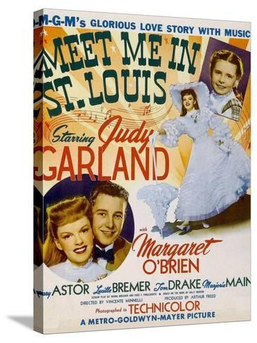 Meet Me in St. Louis, 1944--Stretched Canvas Print