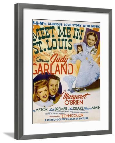Meet Me in St. Louis, 1944--Framed Art Print