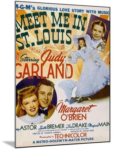 Meet Me in St. Louis, 1944--Mounted Art Print