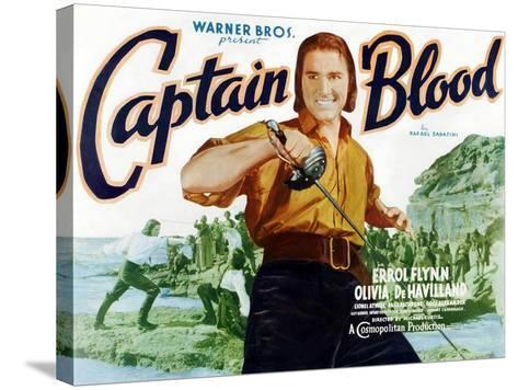Captain Blood, 1935--Stretched Canvas Print