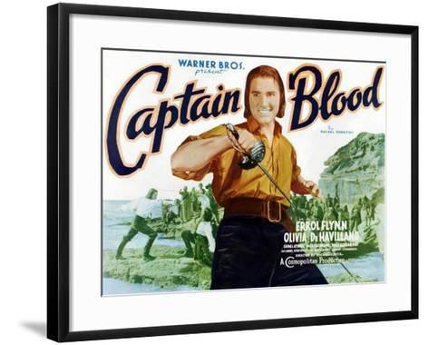 Captain Blood, 1935--Framed Art Print