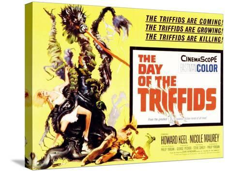 The Day of the Triffids, UK Movie Poster, 1963--Stretched Canvas Print
