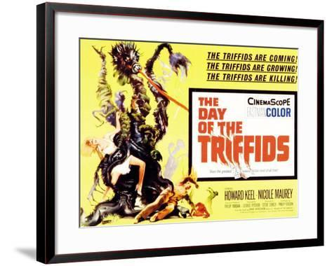The Day of the Triffids, UK Movie Poster, 1963--Framed Art Print