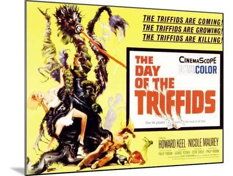 The Day of the Triffids, UK Movie Poster, 1963--Mounted Art Print