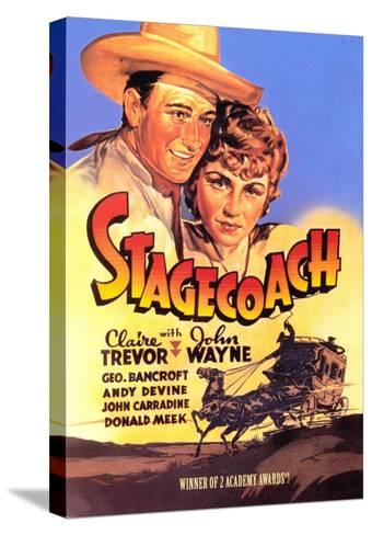 Stagecoach, 1939--Stretched Canvas Print