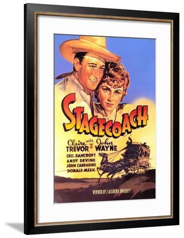 Stagecoach, 1939--Framed Art Print
