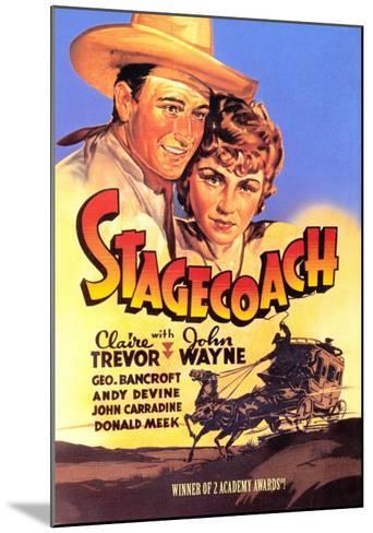 Stagecoach, 1939--Mounted Art Print