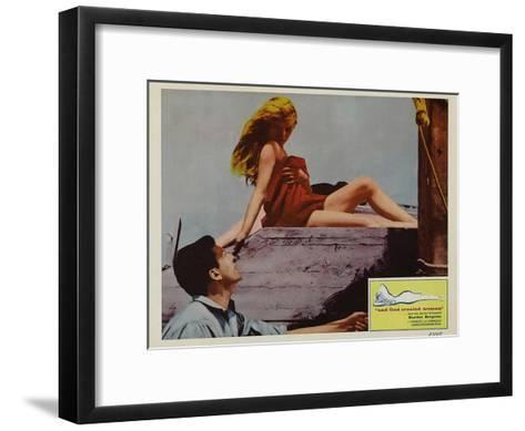 And God Created Woman, 1957--Framed Art Print