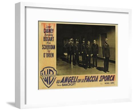 Angels With Dirty Faces, 1938--Framed Art Print