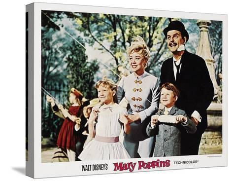 Mary Poppins, 1964--Stretched Canvas Print