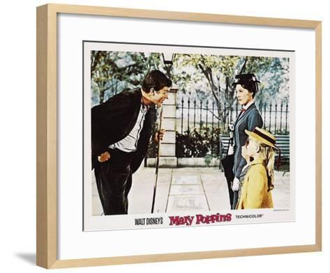 Mary Poppins, 1964--Framed Art Print