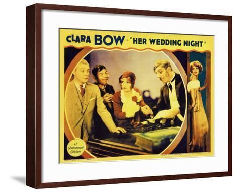 It's Her Wedding Night, 1930--Framed Art Print