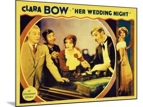 It's Her Wedding Night, 1930--Mounted Art Print