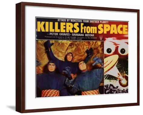 Killers from Space, 1954--Framed Art Print