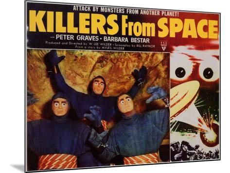 Killers from Space, 1954--Mounted Art Print
