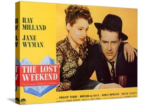 The Lost Weekend, 1945--Stretched Canvas Print