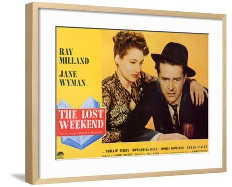 The Lost Weekend, 1945--Framed Art Print