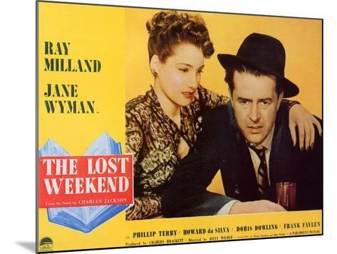 The Lost Weekend, 1945--Mounted Art Print