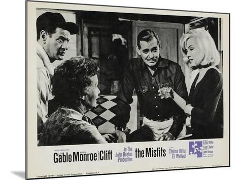 The Misfits, 1961--Mounted Art Print