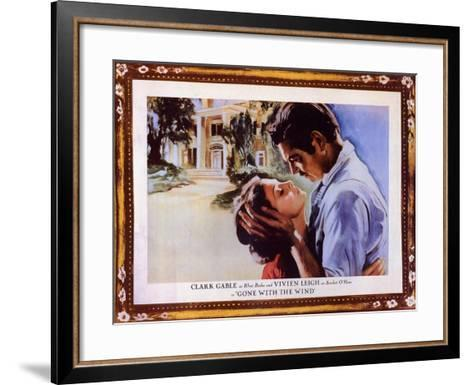 Gone With The Wind, 1939--Framed Art Print
